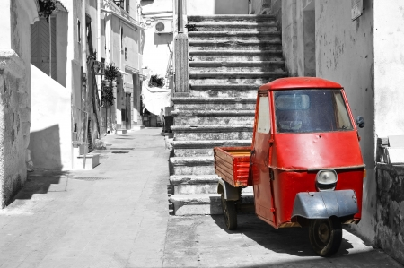 Alleyway. Castellaneta. Puglia. Italy. Stock Photo - 20522135
