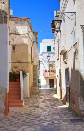 Alleyway. Castellaneta. Puglia. Italy. Stock Photo - 20522812