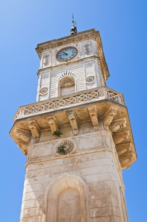 clocktower: Clocktower  Ceglie Messapica  Puglia  Italy   Stock Photo