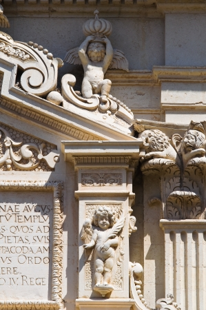 urbanistic: Duomo Church  Lecce  Puglia  Italy