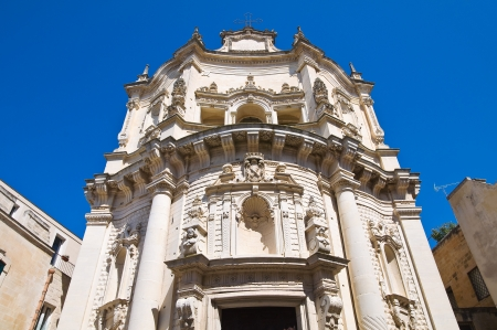 Church of St  Matteo  Lecce  Puglia  Italy   photo