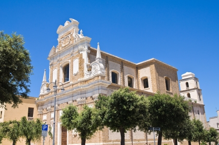 Church of St. Teresa. Brindisi. Puglia. Italy. photo
