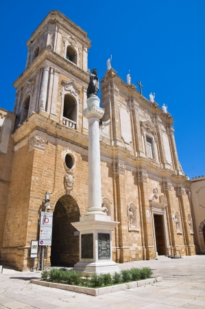 Basilica Cathedral of Brindisi. Puglia. Italy. photo