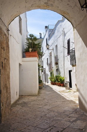 mottola: Arco Fanelli. Mottola. Puglia. Italy.