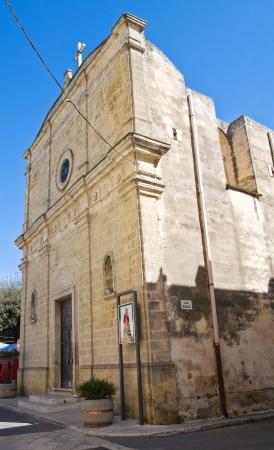 mottola: Church of Rosary. Mottola. Puglia. Italy. Stock Photo