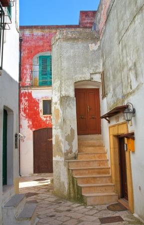 mottola: Alleyway. Mottola. Puglia. Italy.