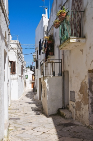 Alleyway. Mottola. Puglia. Italy. Stock Photo - 20744324