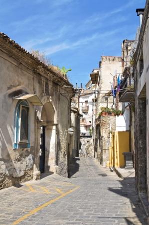Alleyway. Tursi. Basilicata. Italy.  photo