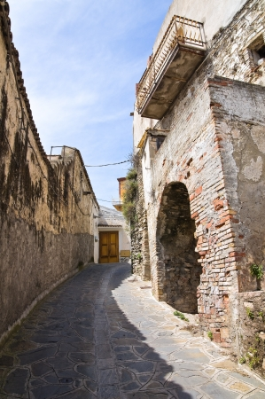 Alleyway. Tursi. Basilicata. Italy.  photo