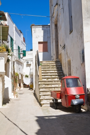 Alleyway. Castellaneta. Puglia. Italy. Stock Photo - 21012562