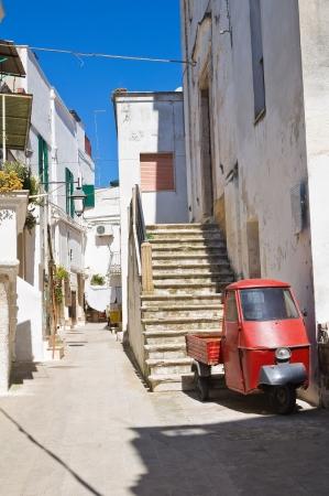 Alleyway. Castellaneta. Puglia. Italy. Stock Photo - 21012562