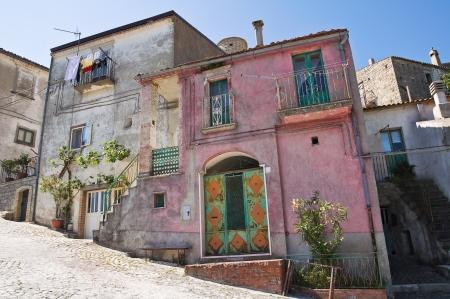 foggia: Alleyway. Alberona. Puglia. Italy.