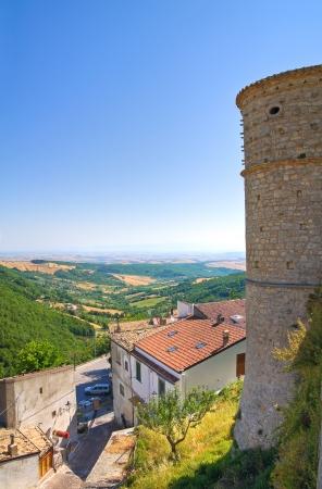 foggia: Great Prior�s tower. Alberona. Puglia. Italy.
