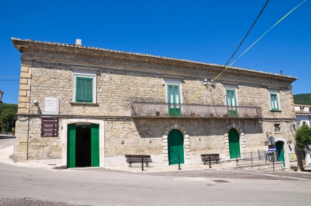 foggia: Civetta palace. Alberona. Puglia. Italy.