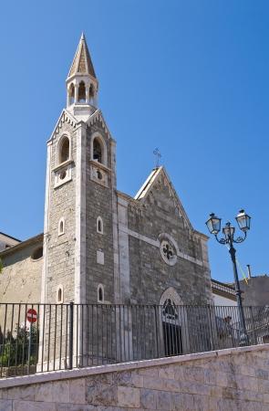 daunia: Church of St. Rocco. Alberona. Puglia. Italy. Stock Photo