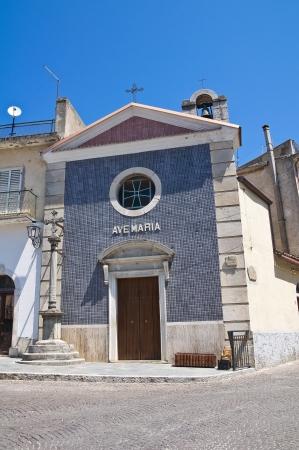 cappella: Cappella della Croce. Roseto Valfortore. Puglia. Italia.