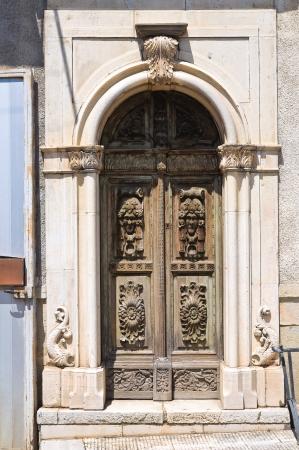 daunia: Historical palace. Roseto Valfortore. Puglia. Italy.