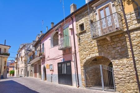 daunia: Alleyway. Roseto Valfortore. Puglia. Italy. Editorial