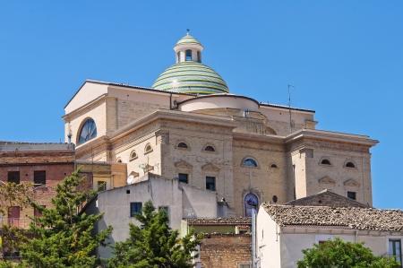Mother Church. Biccari. Puglia. Italy.