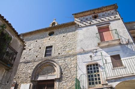 daunia: Church of St. Giuseppe. Alberona. Puglia. Italy.
