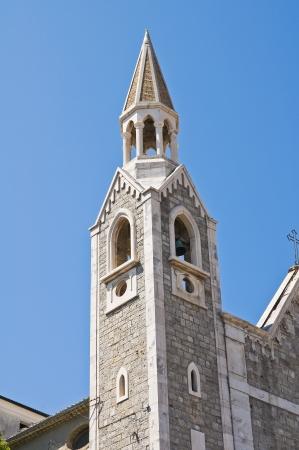 daunia: Church of St  Rocco  Alberona  Puglia  Italy   Stock Photo