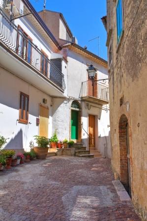 daunia: Alleyway  Alberona  Puglia  Italy   Stock Photo