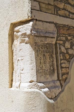 daunia: St  Filippo Neri Oratory  Roseto Valfortore  Puglia  Italy