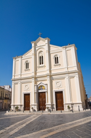 daunia: Church of Addolorata. Cerignola. Puglia. Italy. Stock Photo