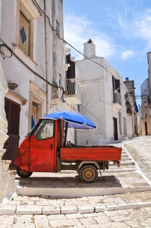 Alleyway. Ceglie Messapica. Puglia. Italy.  photo