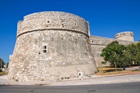 bulwark: Angevine-Swabian Castle. Manfredonia. Puglia. Italy. Editorial