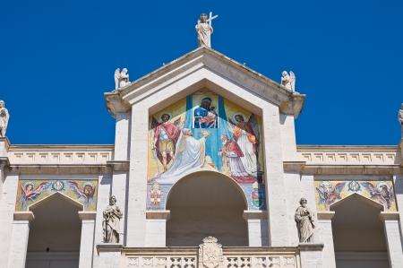 foggia: Cathedral of Manfredonia. Puglia. Italy.