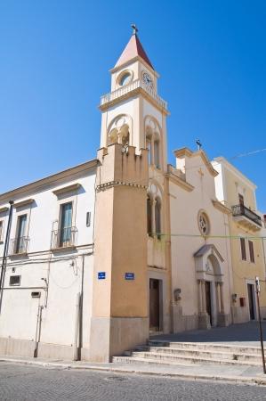 daunia: Stella Maris Church. Manfredonia. Puglia. Italy. Stock Photo