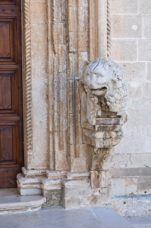 daunia: Church of St. Domenico. Manfredonia. Puglia. Italy.