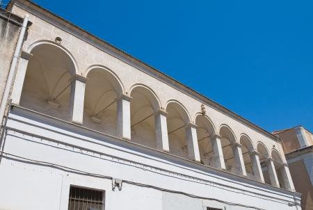 foggia: De Florio Palace  Manfredonia  Puglia  Italy