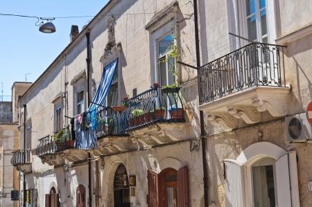 daunia: De Florio Palace  Manfredonia  Puglia  Italy