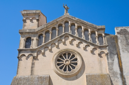 daunia: Church of St  Francesco  Manfredonia  Puglia  Italy