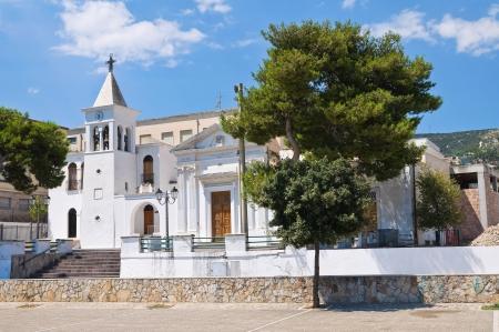 daunia: Church of SS. Maria della Luce. Mattinata. Puglia. Italy.