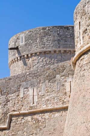 daunia: Angevine-Swabian Castle. Manfredonia. Puglia. Italy.