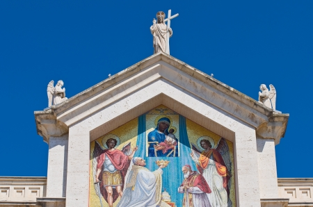 daunia: Cathedral of Manfredonia. Puglia. Italy.
