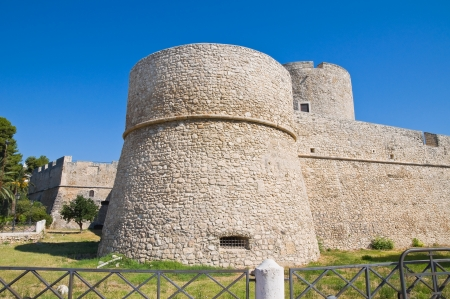 swabian: Angevine-Swabian Castle. Manfredonia. Puglia. Italy.