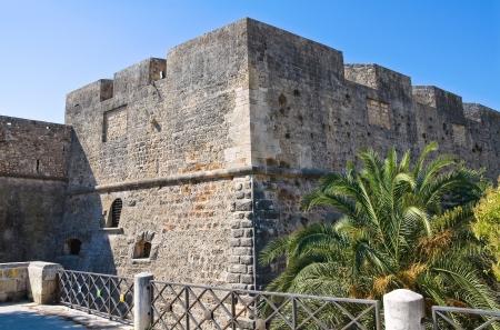 swabian: Angevine-Swabian Castle. Manfredonia. Puglia. Italy. Editorial