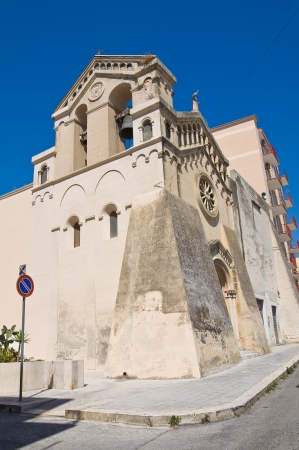 Church of St. Francesco. Manfredonia. Puglia. Italy.  photo