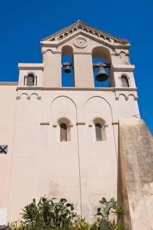 francesco: Church of St. Francesco. Manfredonia. Puglia. Italy.  Stock Photo
