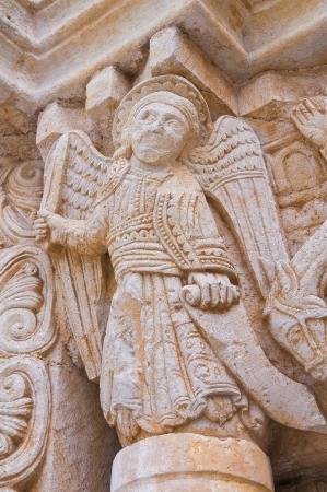 daunia: Abbey of St. Leonardo. Manfredonia. Puglia. Italy.