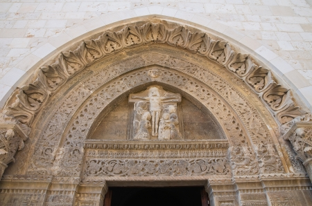 conversano: Basilica Cathedral of Conversano. Puglia. Italy.  Stock Photo