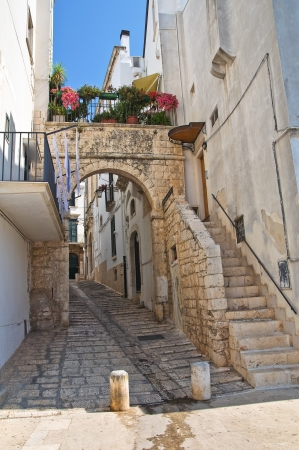 Alleyway. Conversano. Puglia. Italy. Stock Photo - 21807777