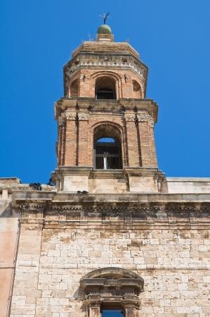 conversano: Church of SS. Cosma e Damiano. Conversano. Puglia. Italy. Stock Photo