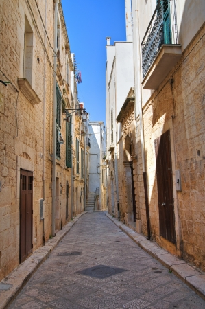 Alleyway. Conversano. Puglia. Italy.  Stock Photo - 21807782
