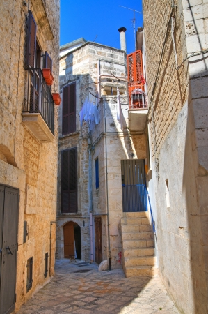 Alleyway. Conversano. Puglia. Italy.  Stock Photo - 21807786