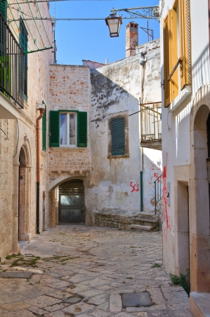 Alleyway. Conversano. Puglia. Italy.  Stock Photo - 21807787